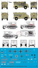 Peddinghaus 1/87 (HO) Sd.Kfz.250/3 & AEC Dorchester Markings Rommel's Cars 3324