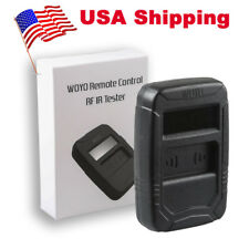USA Ship WOYO Remote Control Tester Car IR Infrared (Frequency Range 10-1000MHZ)