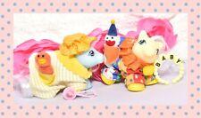❤️My Little Pony G1 VTG Bathrobe & Clown Suit Pocket Pals Baby Pony Wear Set❤️