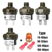 12/24V Metal Compressor Air Pressure Switch Kit 70-100/90-120/120-150/150-180psi