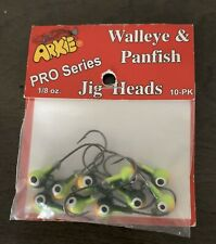 Walleye & Panfish Jig Heads 1/8 10-pk