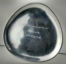 Nambe 525 Serving Platter Dick Kent Memorial Award C.P.P New Mexico Rare