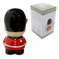 Novelty ceramic red London guard money box piggy bank guardsman Best of British