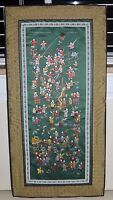Silk Chinese Embroidery Wall Hanging