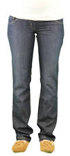 9 Fashion Maternity Sugo Indigo Low-Panel Jeans Sz S $105 NWT