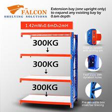 Long Span Storage Warehouse Shelving Racking Racks Shelves, 1.5Wx0.6Dx2mH A
