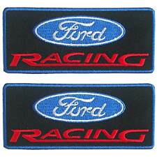 Lot of 2 Ford Racing Motor Sport Car Jacket Embroidered Iron on Patch
