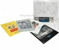 Disney D23 Steamboat Willie Redux Limited Edition Lithograph Set Litho LE 300