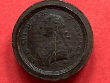 jeton jeu ou médaille bois Louis XVI Henri IV & Sully Révolution Nuremberg