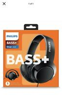 *NEW* Philips SHL3175BK Bass + Over-Ear Headphones with Microphone/Remote Black