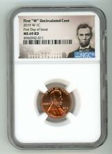 2019 W LINCOLN CENT 1C UNCIRCULATED NGC MS 69 RD FIRST DAY OF ISSUE 4966942-011