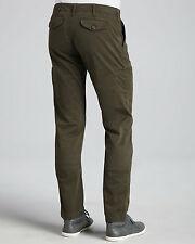 NWT Men's  Vince Twill Cargo Pants Military Green Made in USA.Size 30 $235