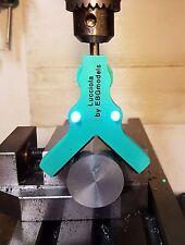 Centratore trovabordi luminoso! Forare una barra o un tubo nel diametro