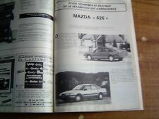REVUE TECHNIQUE CARROSSERIE RTC MAZDA 626...4 et 5 portes