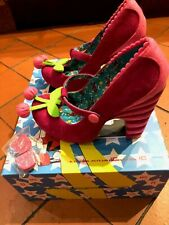Irregular Choice Dress to Kill Shoes Size 37, UK 4, NWB