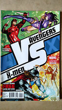 AVX VS  / AVENGERS VS X-MEN #4 FIRST PRINT MARVEL (2012) DAREDEVIL PSYLOCKE THOR