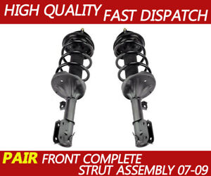 Front Complete Shock Absorbers Coil Spring Strut for 2007-2009  Hyundai Santa Fe