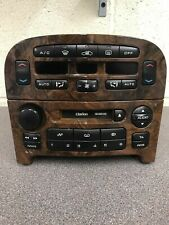 Peugeot 607 Wood Car Radio Stereo Cassette Player Head Clarion Pu-1661b Decoded