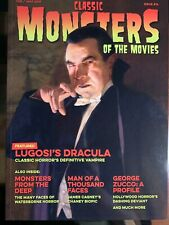 CLASSIC MONSTERS OF THE MOVIES # 14 UK Magazine - Lugosi feature - OOP NM