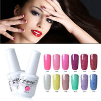 Hot 12 Colors to choose UV LED Neon Gel 15ML Nail Polish Soak Off Decor Base Top