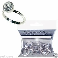 12 ENGAGEMENT PARTY RINGS TABLE SPRINKLE CONFETTI CUPCAKE WEDDING DECORATIONS