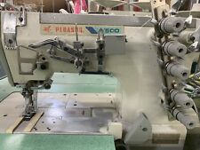 Pegasus W500 Coverstitch 3-Needle Elastic Attaching Industrial Sewing Machine