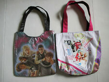 One Direction ID Girls Canvas Purse Tote Bag two bags