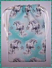 Green Unicorn Tarot Card Bag, ideal for most fairy, angel & Wicca tarot cards