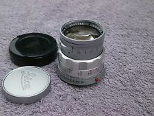 Leica 50mm. f2 Summicron lens M bayonet chrome rigid (11818)