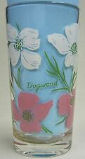 Dogwood Peanut Butter Glass Glasses Drinking Kitchen Mauzy 54-8