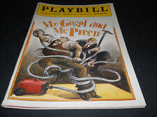 JUNE 1991, PLAYBILL, MR, GOGAL AND MR. PREEN , LINCOLN CENTER THEATER