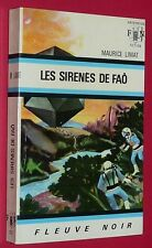 FLEUVE NOIR ANTICIPATION 1968 N°351 LES SIRENES DE FAÔ MAURICE LIMAT