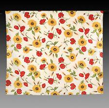 große mediterrane Tischdecke mit Sonnen/Mohnblumen, Provence 300 x 140 cm Neu