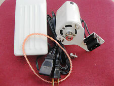 FAMILY HOME SEWING MACHINE MOTOR & PEDAL SINGER HA1 15 66 99K