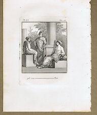 Apollonius of Rhodes, (born c. 295 bc), Greek Poet - HERCULANUM- Piroli 1804