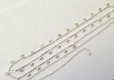 Diamante/Diamond Drop Ladies Belt Chain Belt One Size Lower Price UK