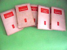 LOTTO CONRAD-D'ANNUNZIO-CECOV-POE. BIBLIOTECA MODERNA MONDADORI 1950
