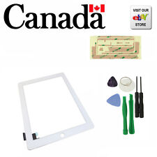 New Replacement Touch Screen Glass Digitizer for Apple iPad 2 White + Free Tools