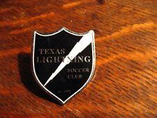 Texas Lightning Lapel Pin - Arlington TX USA Youth Sports Football Crest Bolt