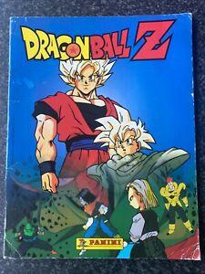 Dragon Ball Z Panini Sticker Album Retro Collectible | 71% Complete