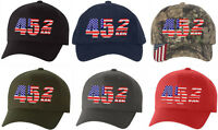 Donald Trump Hat 45 2 Term Embroidered ADJUSTABLE Hat Make America Great Again