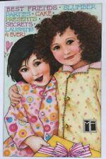 Mary Engelbreit Handmade Magnets-Best Friends