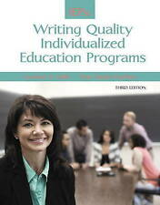 NEW IEPs: Writing Quality Individualized Education Programs (3rd Edition)
