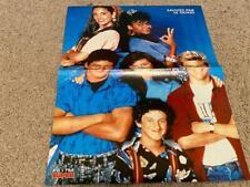 Mario Lopez Mark Paul Gosselaar Tiffani Amber Thiessen teen magazine poster SBTB