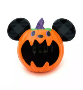 Disney Store Mickey Mouse Happy Halloween Candy Sweet Bowl Ornament New
