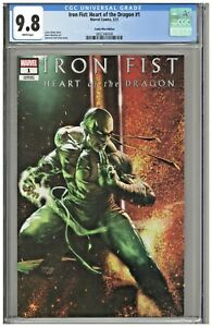 Iron Fist Heart of the Dragon #1 CGC 9.8 Comic Mint Edition Dell'Otto Variant