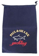 PAUL & SHARK YACHTING Tasche Bag Schuh Beutel Kleiderbeutel 30,5 cm x 42 cm NAVY