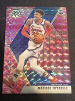 2019-20 Panini Mosaic MATISSE THYBULLE #245 Rookie PINK CAMO PRIZM 76ers Rookie
