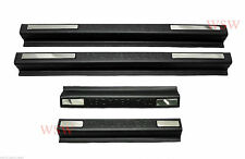 MATTE BLACK DOOR SILL SCUFF PLATE HOLDEN COLORADO 7 TRAILBLAZER SUV 2012 13-2017