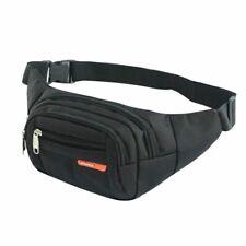 Unisex Waist Men Women Bum Bag Travel Phone Money Pouch Bags Female Belt Bags
